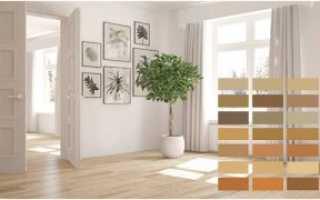 Как выбрать цвет межкомнатных дверей и ламината