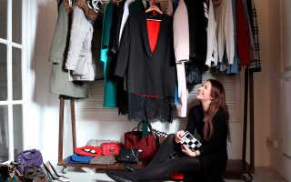 Как организовать шкаф для одежды внутри