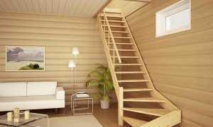 Лестницы в ограниченном пространстве