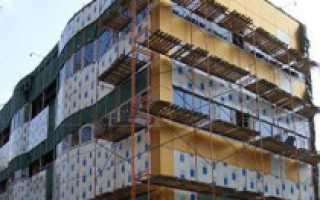 Как установить вентилируемые фасады