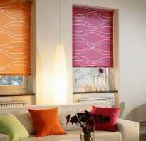 Как выглядят рулонные шторы на окне фото