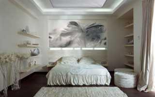Интерьер спальни просто и со вкусом