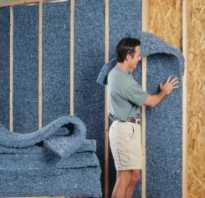 Как правильно утеплить стену внутри дома