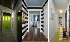 Длинный коридор в квартире дизайн интерьер