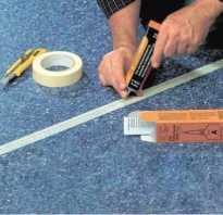 Холодная сварка для линолеума инструкция