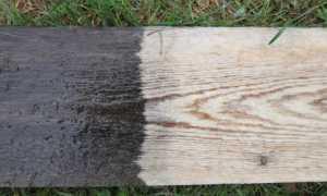 Отбеливатель древесины своими руками