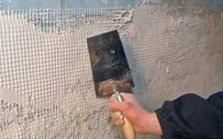 Декоративная штукатурка на окрашенные стены