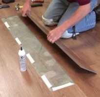 Как поменять доску ламината в середине комнаты