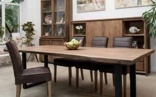Из какого дерева лучше делать стол?