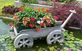 Как обустроить сад фото