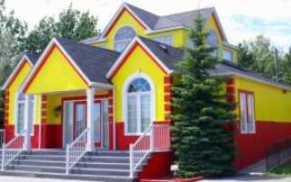 Чем можно покрасить фасад