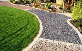 Как делать садовые дорожки