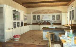 Большая кухня в доме дизайн фото