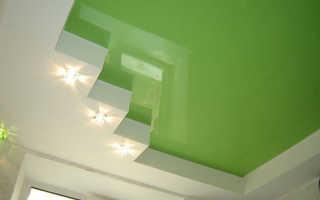 Глянцевый или матовый натяжной потолок в детской