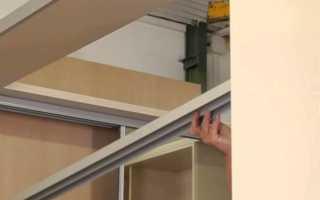 Шкаф из гипсокартона с дверцами своими руками