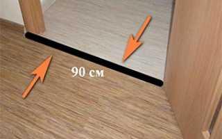 Как сделать переход с ламината на линолеум