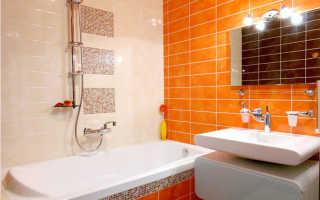 Красивый ремонт в ванной комнате в хрущевке