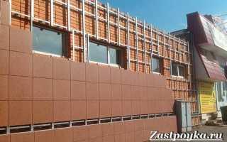 Виды навесных вентилируемых фасадов