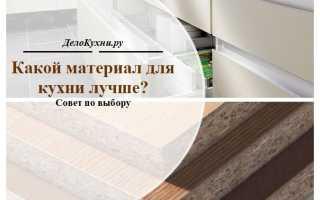 Кухня мебель материалы