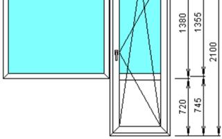 Размеры железных входных дверей с коробкой