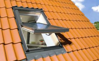 Окна в крыше фото