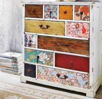 Как декорировать торец шкафа?