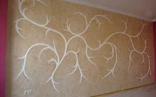 Декоративное шпаклевание стен