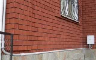 Крепление кабеля по фасаду здания