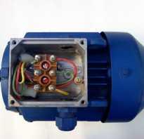 Кнопка для запуска однофазного электродвигателя