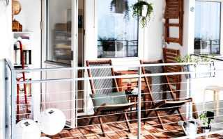 Белый балкон дизайн
