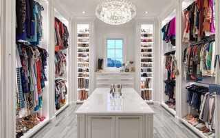 Фасад гардеробной комнаты фото
