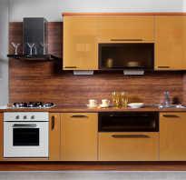 Обшивка кухни МДФ панелями