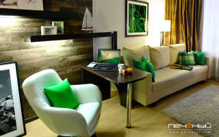 Комнаты в квартире просторные и светлые