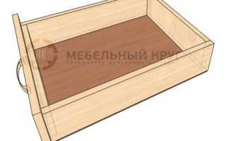 Ящик в шкаф своими руками