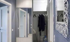 Дизайн натяжного потолка в коридоре фото