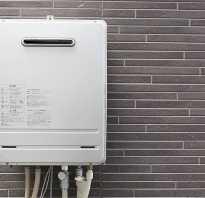Газовая колонка для горячей воды частного дома