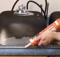 Как установить кухонную раковину