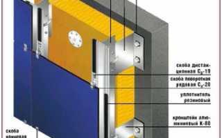 Как установить вентилируемый фасад