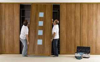 Как делают двери для шкафов купе?