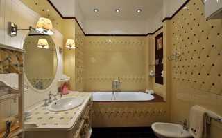 Какая должна быть высота раковины в ванной