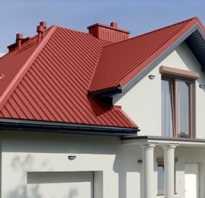 Как крепится металлопрофиль на крышу