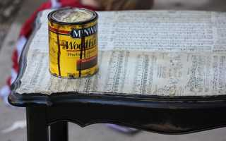Покраска стола через тюль