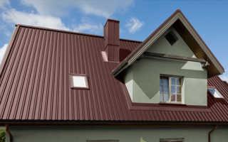 Как крепить металлопрофиль на крыше саморезами